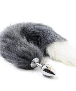 Plug Anal Pequeno com Rabo Diversos Modelos Inserção Plug anal Pet Play