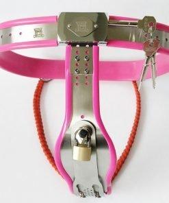 Cinto de Castidade Feminino Female Chastity Belt Device Pants Cintos de Castidade