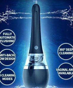 Cleaner Automático Enema BodyPro Limpador Vagina e Anal Recarregável USB Jogos Adultos