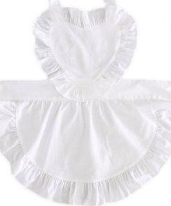 Avental de Empregada Doméstica com Babados Sexy Sissy Maid Vestuário